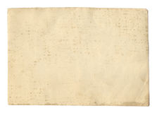 Free Vintage Style Brown Old Paper Texture Or Background, With Uneven Torn Edges Stock Images - 95849954