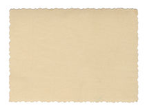 Free Vintage Style Brown Old Paper Texture Or Background, With Uneven Torn Edges Royalty Free Stock Photos - 95850248