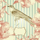 Vintage Style Card Royalty Free Stock Photography