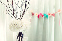 Vintage style ceremony decorations Royalty Free Stock Photography