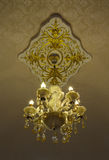 Vintage style chandelier Royalty Free Stock Photography