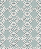 Vintage style circles and waves seamless pattern. Royalty Free Stock Photography