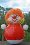 Vintage style clown Stock Image
