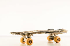 Vintage Style Concued Skateboard Stock Photo