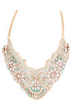 Vintage style costume jewellery necklace Stock Images
