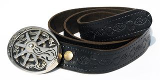 Vintage style cowboy belt Royalty Free Stock Photos