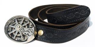 Vintage style cowboy belt Royalty Free Stock Photos