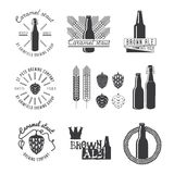 Vintage Style Craft Beer Label. Stock Photography