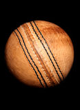 Vintage style cricket ball Stock Photography