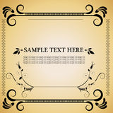 Vintage style decorative frame Royalty Free Stock Photo