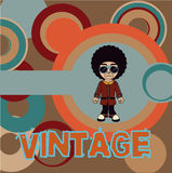 Vintage style design Royalty Free Stock Photography