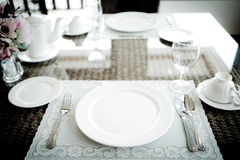 Vintage style of Dinning room. Stock Images