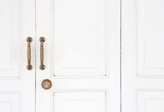 Vintage style door Stock Photography