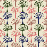 Vintage style  floral pattern Royalty Free Stock Photography