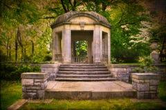 Vintage Style Garden Gazebo Royalty Free Stock Images