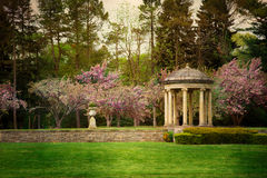 Vintage Style Gardens Stock Photography
