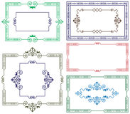 Vintage style gold border Royalty Free Stock Photography