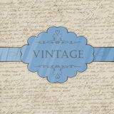 Vintage style greeting card Stock Photography