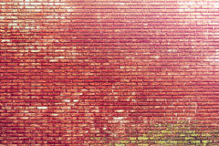 Vintage style with grungy brick wall texture background Royalty Free Stock Photo