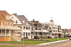 Cape May: Classic Seaside Homes Stock Images