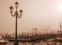Vintage style image of Venice Royalty Free Stock Photos