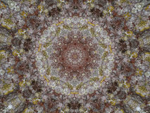 Vintage style kaleidoscopic image for background Stock Image