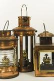 Vintage style kerosene lantern Royalty Free Stock Photo