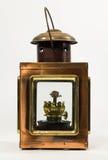 Vintage Style Kerosene lantern. A Rustic Vintage style kerosene lantern Royalty Free Stock Photo
