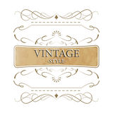 Vintage style  label Royalty Free Stock Photo