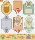 Vintage style labels Royalty Free Stock Images