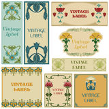 Vintage Style Labels Set Royalty Free Stock Photo