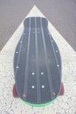 Vintage Style Longboard Black Skateboard Royalty Free Stock Image