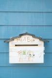 Vintage Style Mailbox Stock Image