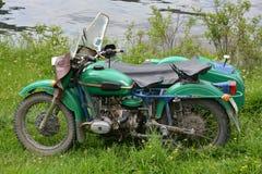 Vintage style motorbike Stock Images