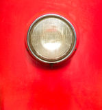 Vintage style motorcycle light Stock Photography