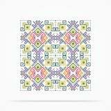 Vintage  Navajo Pattern Royalty Free Stock Images