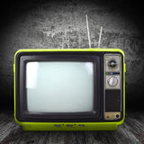 Vintage style old television Royalty Free Stock Photography