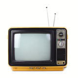 Vintage style old television Stock Photography