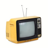 Vintage style old television Stock Photos