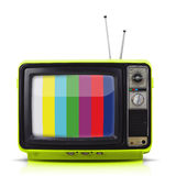 Vintage style old television Royalty Free Stock Photo