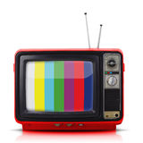 Vintage style old television Stock Image