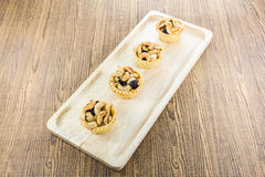 Cashew nut pie Royalty Free Stock Photography