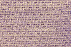 Vintage style photo of natural linen fabric. Stock Images