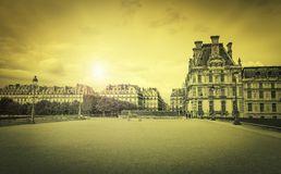 Vintage style picture of Paris Royalty Free Stock Photography