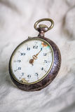 Vintage style pocket watch Royalty Free Stock Photos