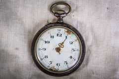 Vintage style pocket watch Stock Images