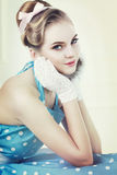 Vintage style portrait Royalty Free Stock Photo