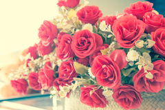 Vintage style,Rose flower. For background Stock Image