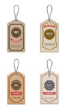 Vintage Style Sale Tags. Royalty Free Stock Photos