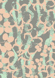 Vintage style seamless fabric pattern Royalty Free Stock Photo